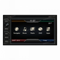 Universal 2Din Car DVD Player(C6528)