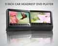 9inch Car Headrest DVD Player