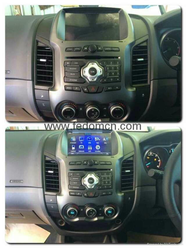Car DVD player for Ford Ranger GPS Navigation System 8