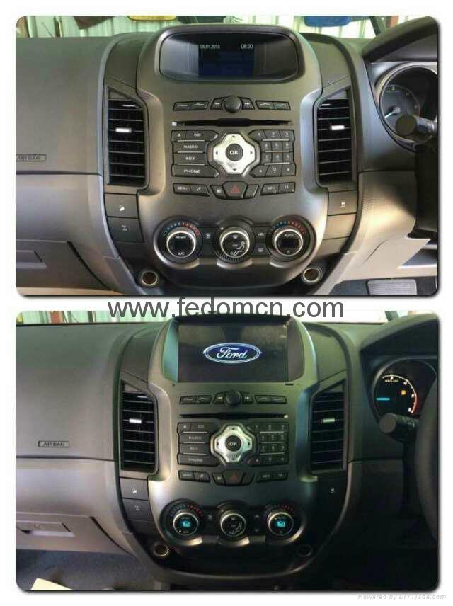 Car DVD player for Ford Ranger GPS Navigation System 3