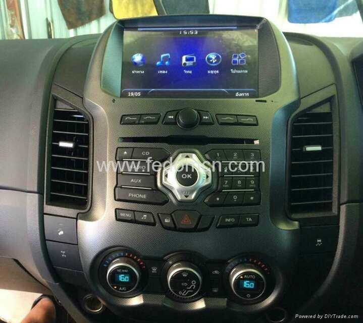 Car DVD player for Ford Ranger GPS Navigation System 4