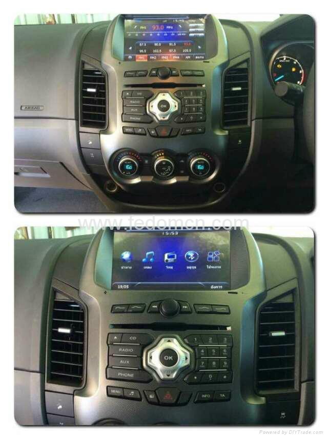 Car DVD player for Ford Ranger GPS Navigation System 5