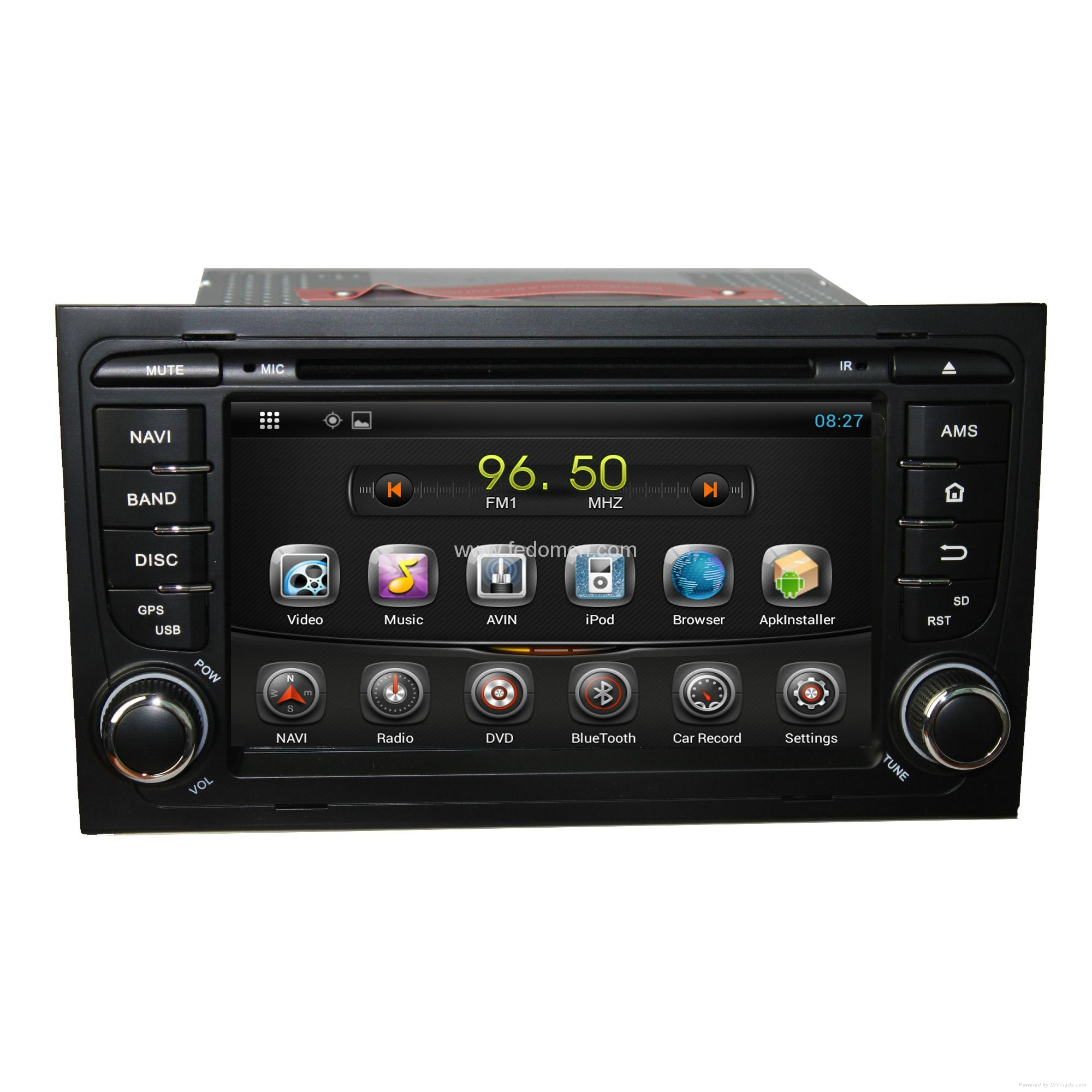 Android Car DVD GPS For  Audi A4 1