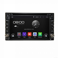 Android Universal 2 Din car DVD player GPS navigation system