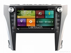 Cartouch® Car DVD GPS for Toyota Camry 2015 iPod BT TPMS Radio RDS CT-9033
