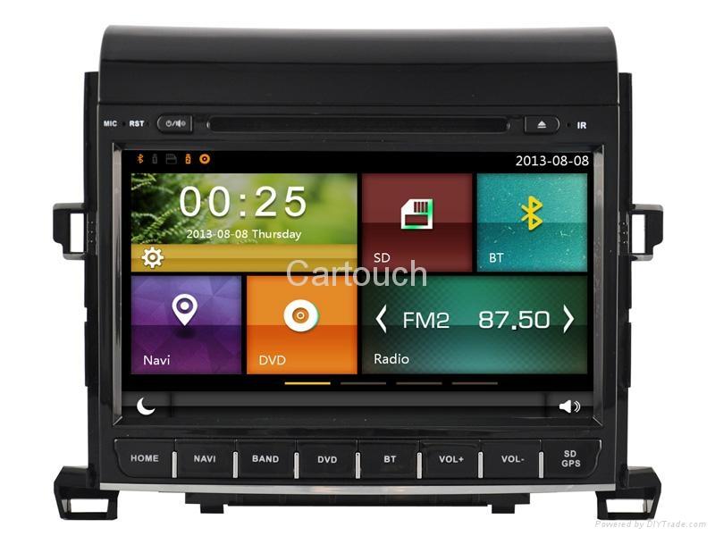 Cartouch® Car DVD GPS Navigation for Toyota Alphard Radio iPod Bluetooth CT-9005 1