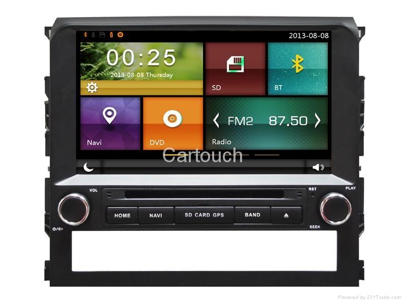 Cartouch® Car DVD GPS Navigation for Toyota Land Cruiser Radio iPod Bluetooth 1