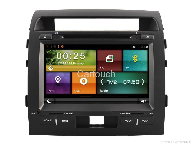 Cartouch® Car DVD GPS Navigation for Toyota Land Cruiser Radio iPod Bluetooth 2