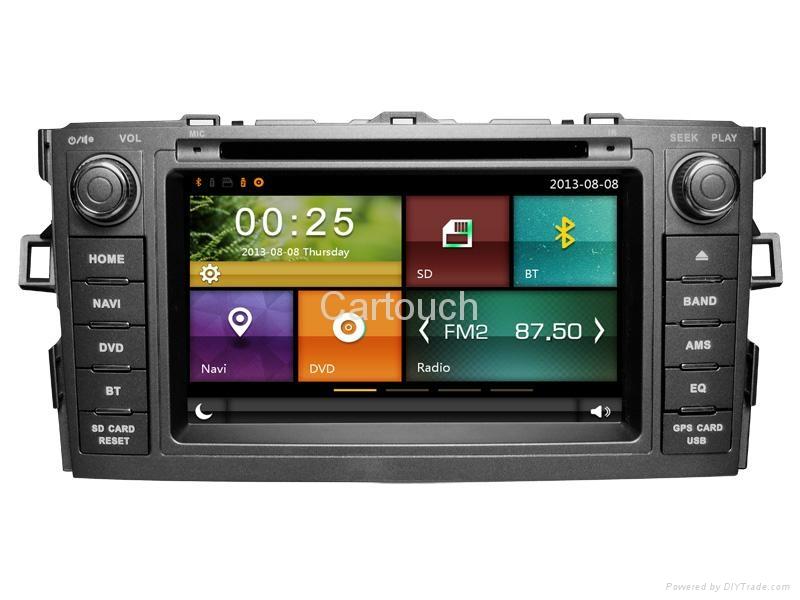 Cartouch® Car DVD GPS Navigation for Toyota Corolla Radio iPod Bluetooth Audio 3