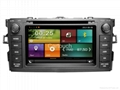 Cartouch® Car DVD GPS Navigation for Toyota Corolla Radio iPod Bluetooth Audio 3
