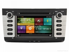 Cartouch® Car DVD GPS for Suzuki Swift Radio Audio Video iPod BT TPMS CT-7018