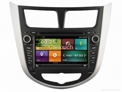 Cartouch® Car DVD GPS for Hyundai Verna FM Radio RDS iPod BT Phone Link CT-7062