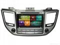 Cartouch® Car DVD GPS for Hyundai Tucson/ix35 2016 Radio iPod Phone Link CT-6204