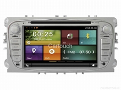 Cartouch® Car DVD GPS for Ford Mondeo/S-Max/C-Max RDS iPod BT Phone Link CT-6201