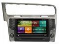 Cartouch® Car DVD GPS for VW Golf 7 FM