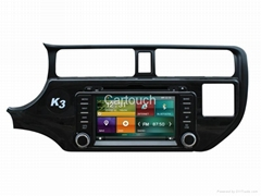 Cartouch® Kia K3 Rio Car DVD Player GPS Navigation Radio RDS iPod Phone Link AV