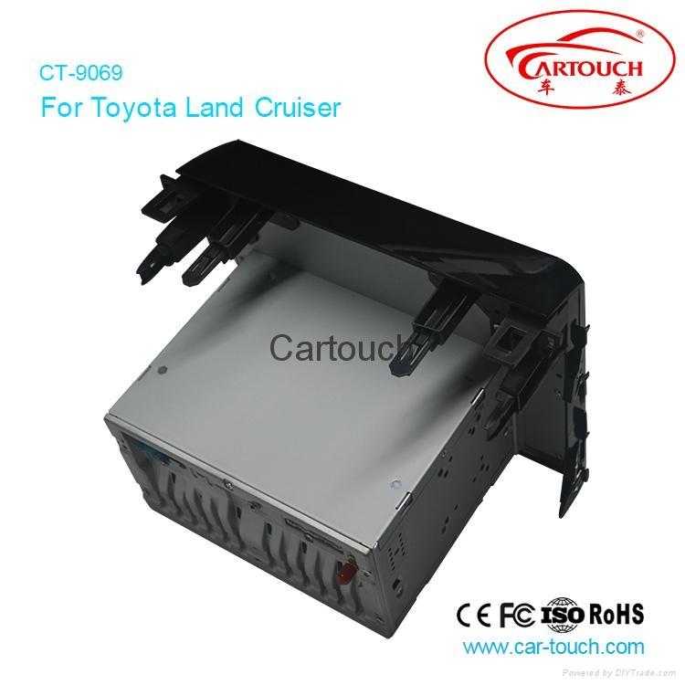 Cartouch® Car DVD GPS Navigation for Toyota Land Cruiser Radio iPod Bluetooth 4