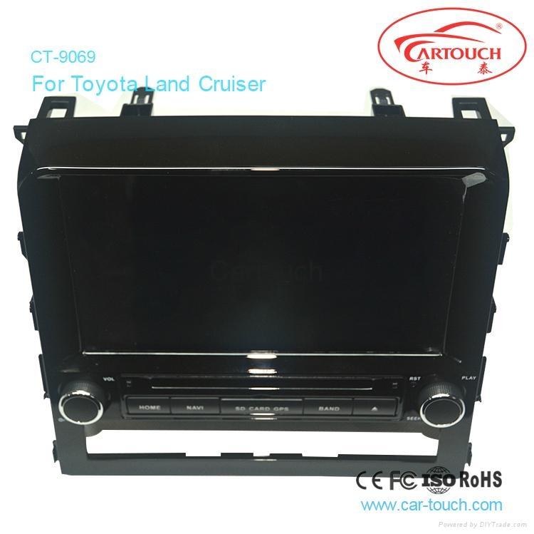 Cartouch® Car DVD GPS Navigation for Toyota Land Cruiser Radio iPod Bluetooth 5