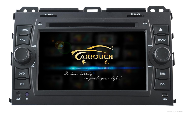 Car Gps System Product : Cartouch car dvd gps navigation for toyota prado radio