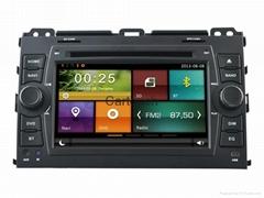 Cartouch® Car DVD GPS Navigation for Toyota Prado Radio iPod Bluetooth Audio