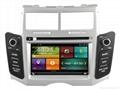 Cartouch® Car DVD GPS Navigation for Toyota Yaris Radio iPod BT CT-6207