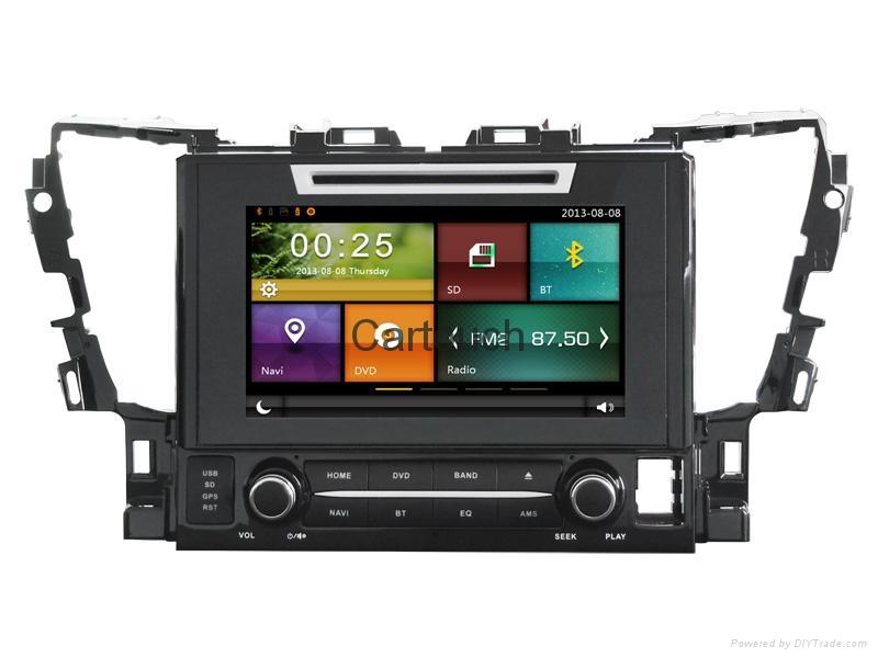Cartouch® Car DVD GPS Navigation for Toyota Alphard Radio iPod Bluetooth CT-9005 2