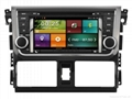 Cartouch® Car DVD GPS Navigation for Toyota Yaris/Vios 2016Radio iPod Bluetooth