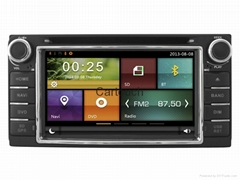 Cartouch® Car DVD GPS Navigation Audio Radio RDS for Toyota Universal (CT-6214)