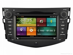 Cartouch® Car DVD GPS Navigation for Toyota RAV4 Radio iPod Bluetooth CT-7009