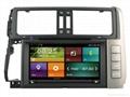 Cartouch® Car DVD GPS Navigation Audio Radio RDS BT A2DP for Toyota Prado 150