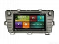 Cartouch® Car DVD GPS Radio RDS iPod Bluetooth A2DP Car Audio for Toyota Prius