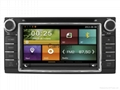 Cartouch® Car DVD GPS for Toyota Corolla Univeral Radio iPod BT ct-6214/B/C