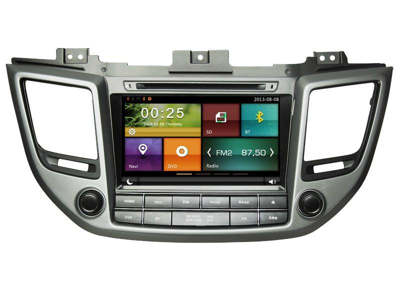 Cartouch® Car DVD GPS for HYUNDAI IX35 2016 Radio iPod Phone Link CT-8012 1