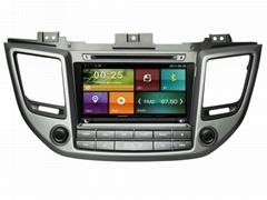 Cartouch® Car DVD GPS for HYUNDAI IX35 2016 Radio iPod Phone Link CT-8012
