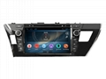 Android Car DVD GPS For TOYOTA COROLLA 2014 (RFD)