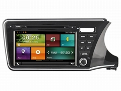 Cartouch® Car DVD GPS for Honda City 2014  Radio iPod Bluetooth Audio CT-9004R