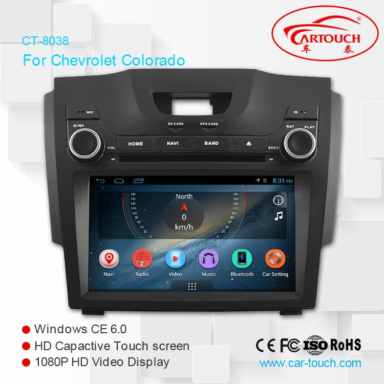 Android Car DVD GPS For Chevrolet S10 1