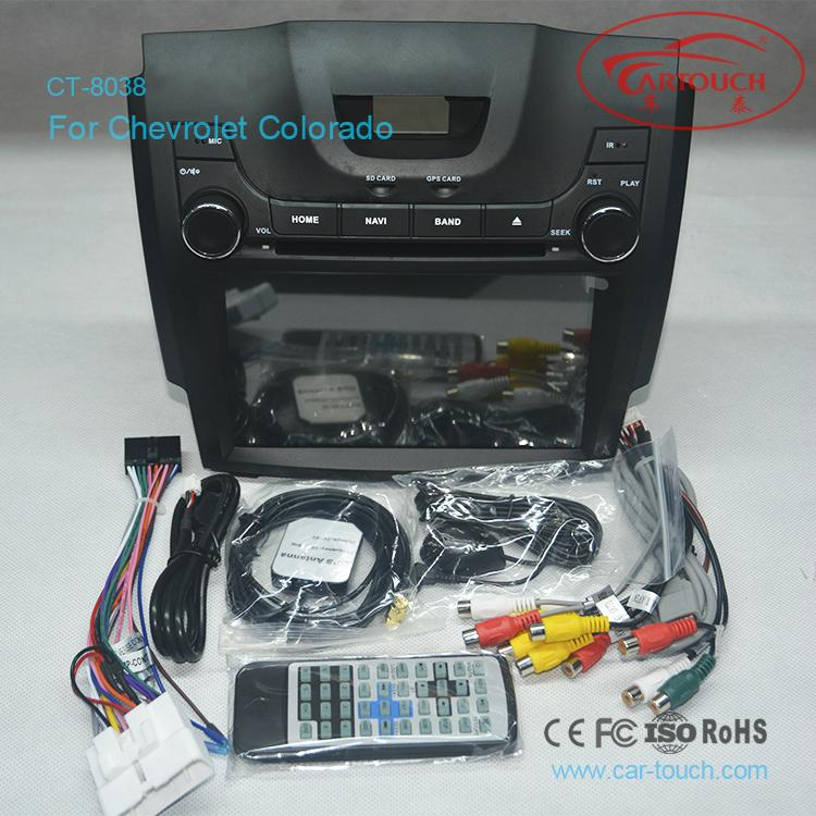 Android Car DVD GPS For Chevrolet S10 5