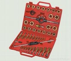 45pcs alloy steel Titanium coating tap and die set