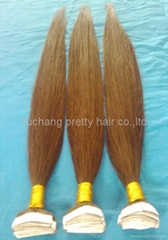 Brazilian Virgin Hair Pre-tape  Hair Extension