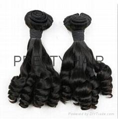 Funmi Hair High Volume Rich Curl Peruvian Hair Extension