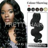 hgih quality 6a Peruvian human REMY HAIR WEFT wholesale factory price