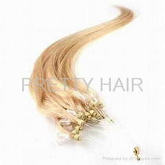 micro ring loop human hair extension body wave micro bead hair extensions