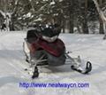 雪地摩托车 雪地车 雪摩托 滑