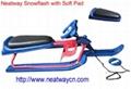 无动力滑雪车 方向雪撬 滑雪板