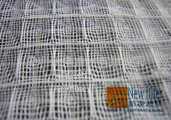 White air-conditioning filter net 1
