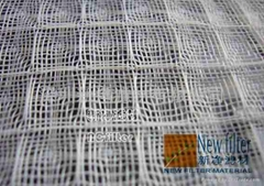White air-conditioning filter net