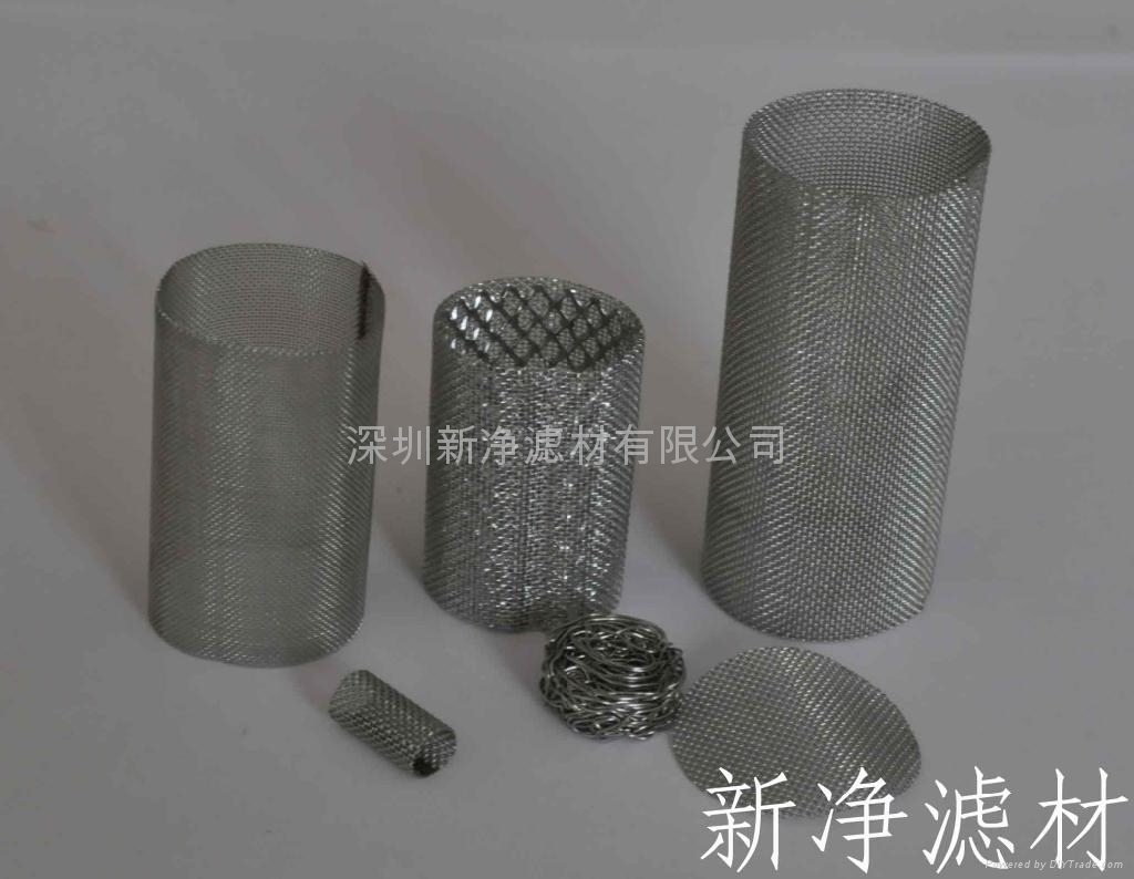 Stainless Steel wire mesh Filter tube 1