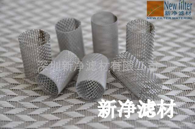 不锈钢丝网滤筒滤芯 2