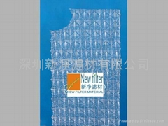 Honeycomb weave air-conditioning mesh